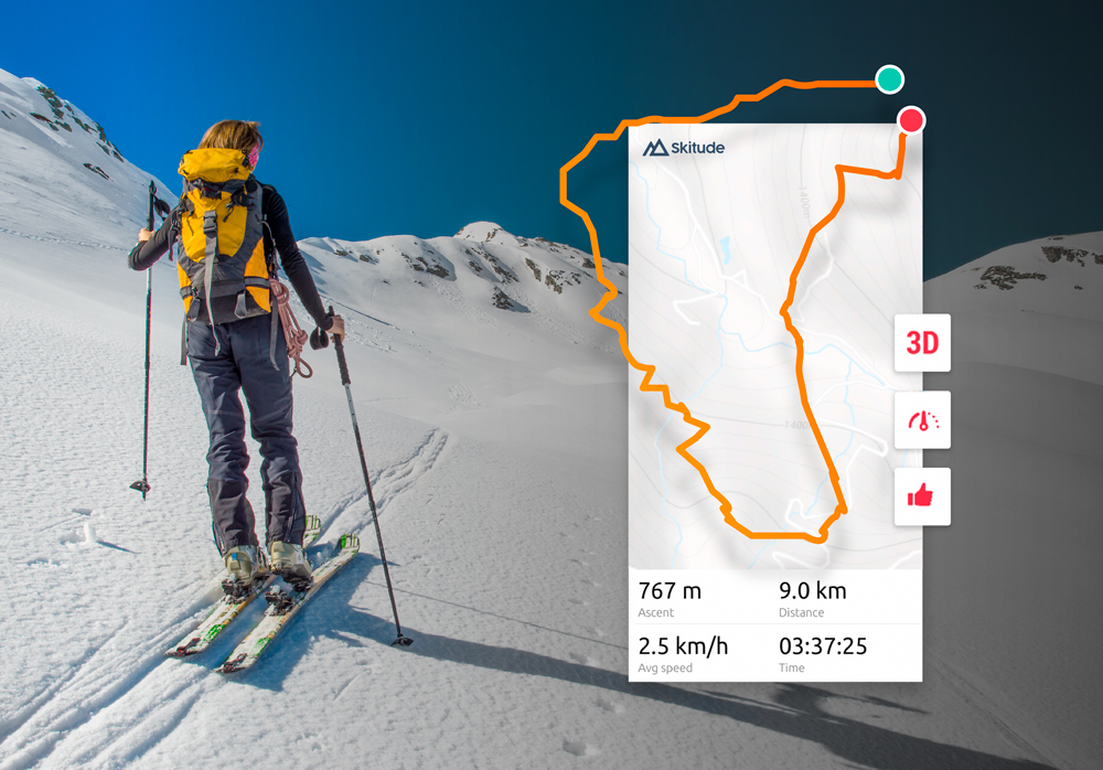 """Featured image for """"Ski touring: The great protagonist of this season"""""""